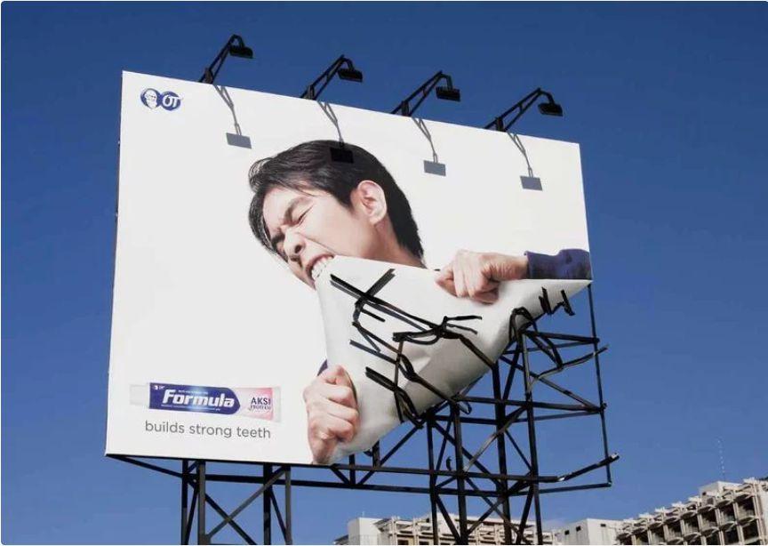 آگهی تبلیغات اینترنتی خلاقانه
