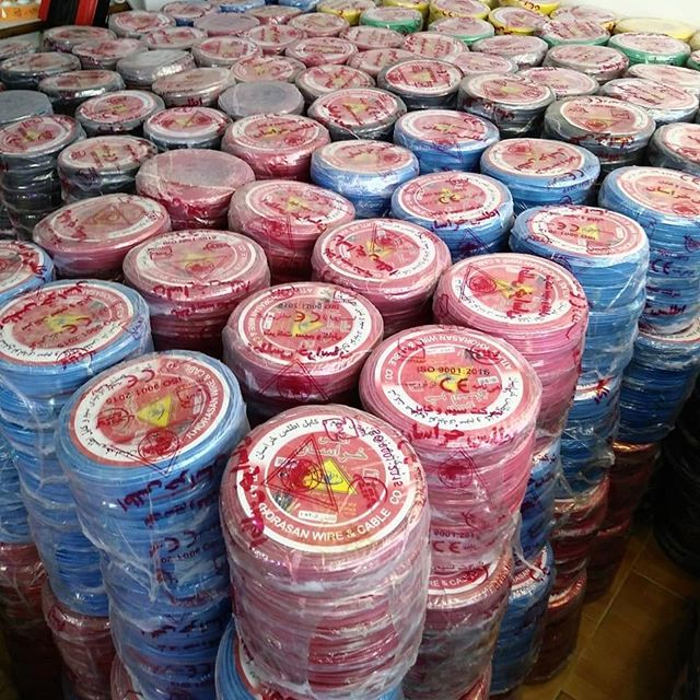 پخش عمده انواع سیم و کابل برق استاندارد