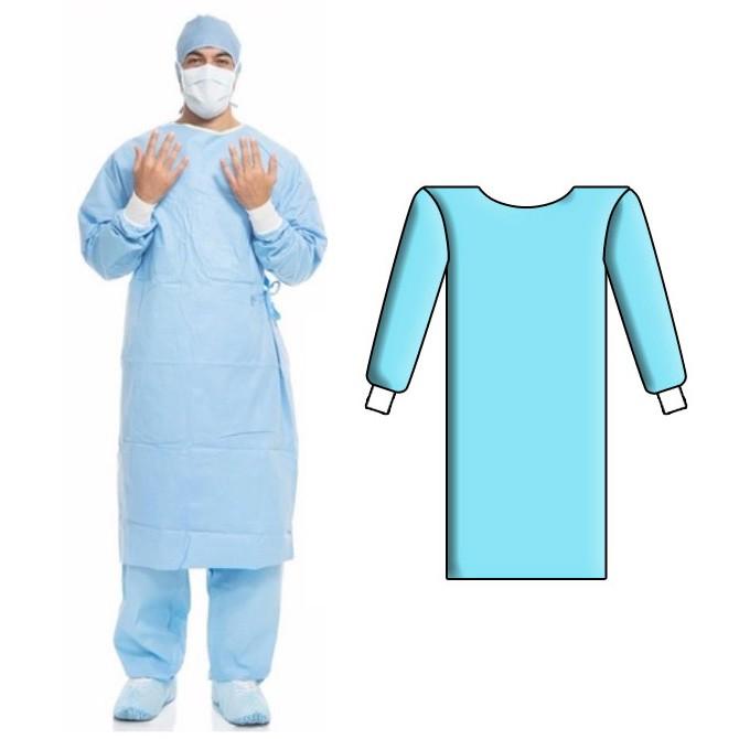 لباس سرهمی یکبار مصرف ایزوله مدل کرونا