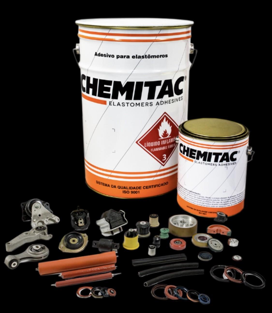 چسب لاستیک به فلز اسپانیایی chemitac