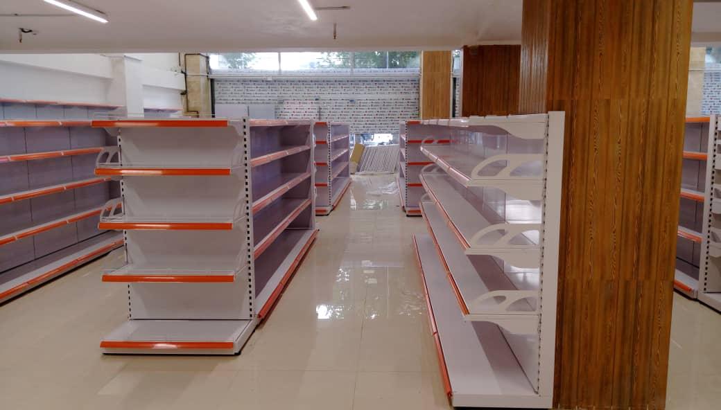 انواع قفسه های فروشگاهی وصنعتی
