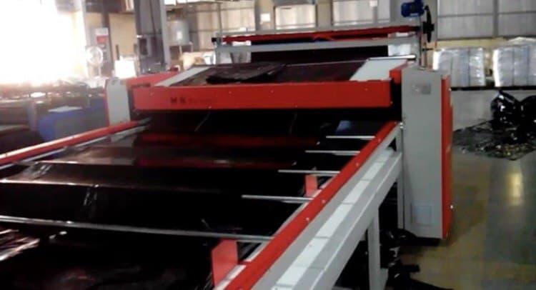 دستگاه دوخت نایلون عریض تمام اتوماتیک تا عرض 2 متر