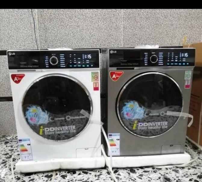 ماشین لباسشویی ۹ کیلویی ال جی LG