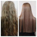 فروش اتو موهای نانو سنگ معدن(صافی دائم) بدون مواد