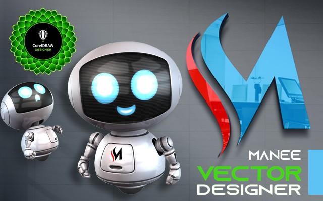 طراح حرفه ای کورل دراو (  Vector Designer  ) دو بعدی و سه بعدی