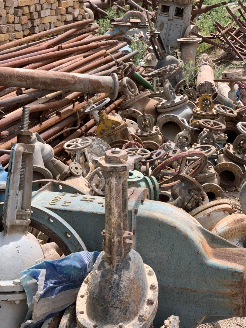 خریدار ضایعات آهن و فلزات در سراسر کشور بالاترین قیمت